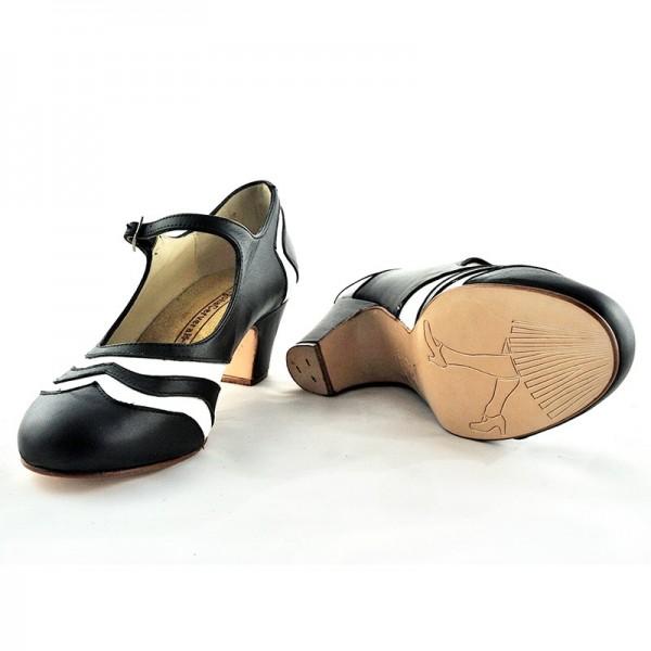 Swing Shoe BICOLOR Box Negro