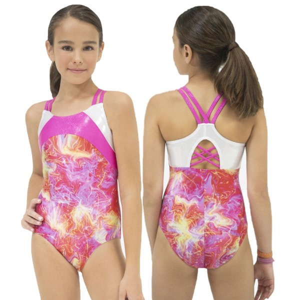 Girls Gymnastik Camisole Leo