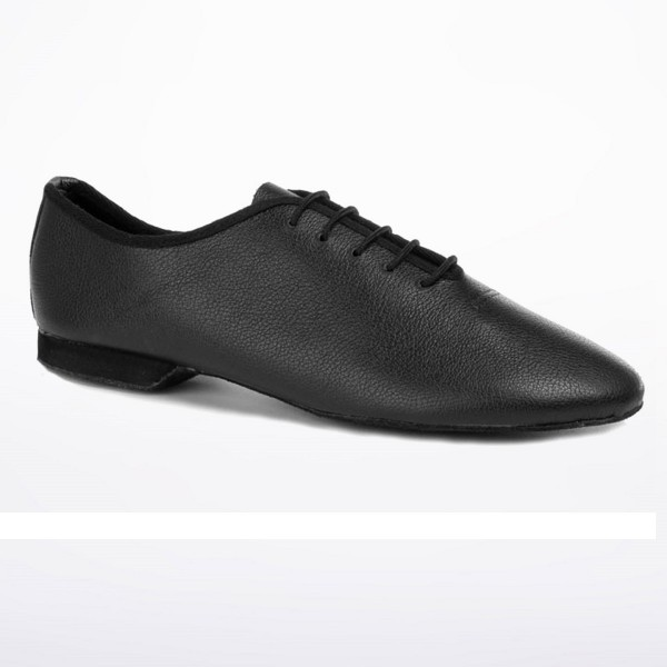 Jazz shoe with complete suede sole