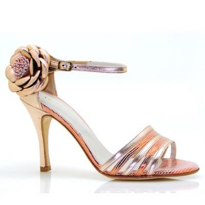 Tango shoe NINA METALLIC
