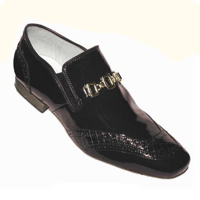 Men's patent shoe TONI