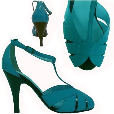 Tango shoe TITA TURQUESA