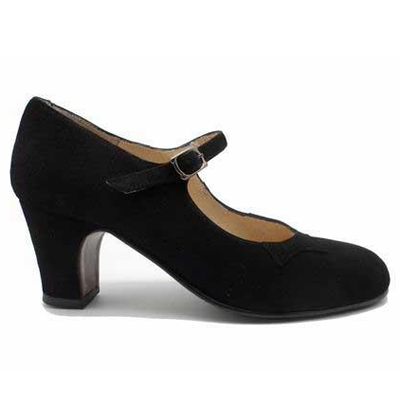 Flamenco Shoe BASIC Ante Negro