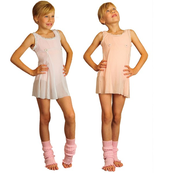 Girls Baby Doll Overdress BRIGHT