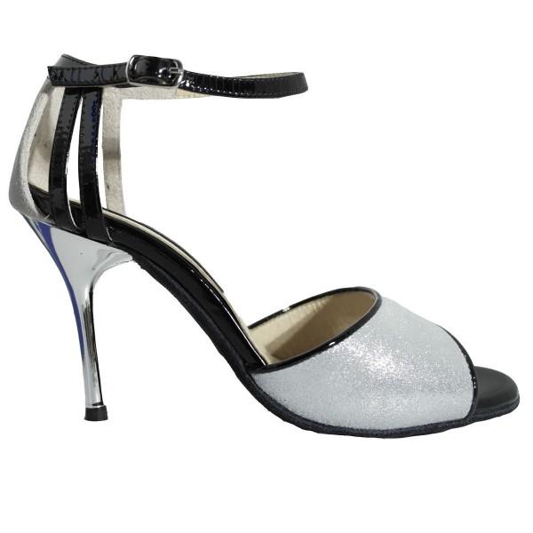 Tango shoe 420 SATINATO ARGENTO