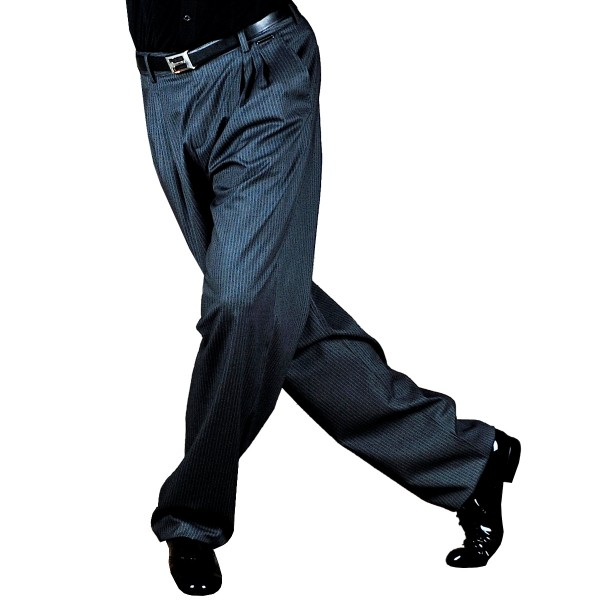 Tango Trousers COPES Pinstripe Grey