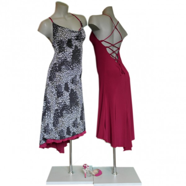 Reversible Dress PEBETA MULBERRY