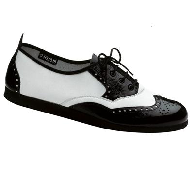 Swing-/Rock'n'Roll shoe ROCK'N'ROLL patent with PU-sole