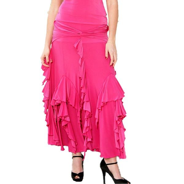 Espen Salberg Ballroom Skirt SES3 Hot Pink