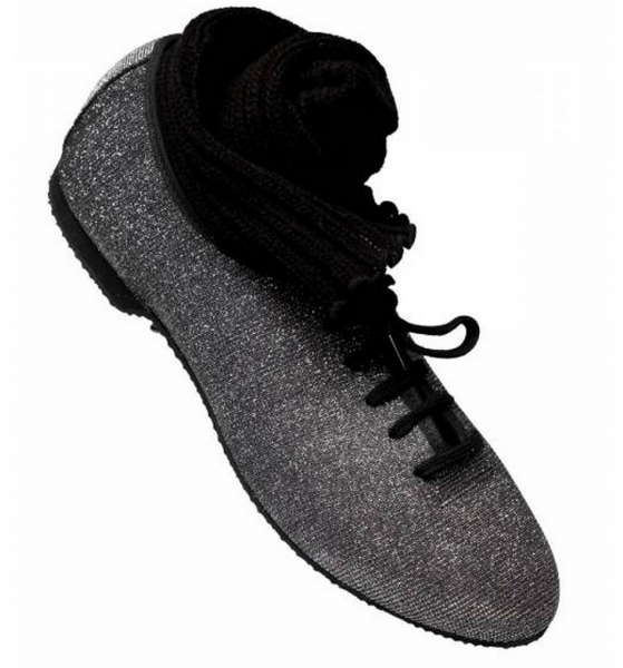 Graphite hologram jazz shoe