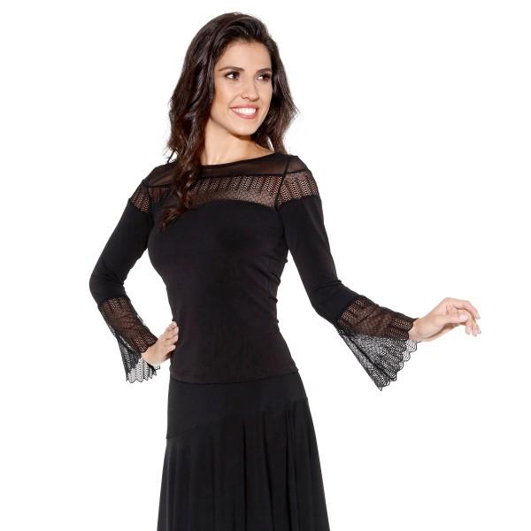 Ladies long sleeve shirt E11227